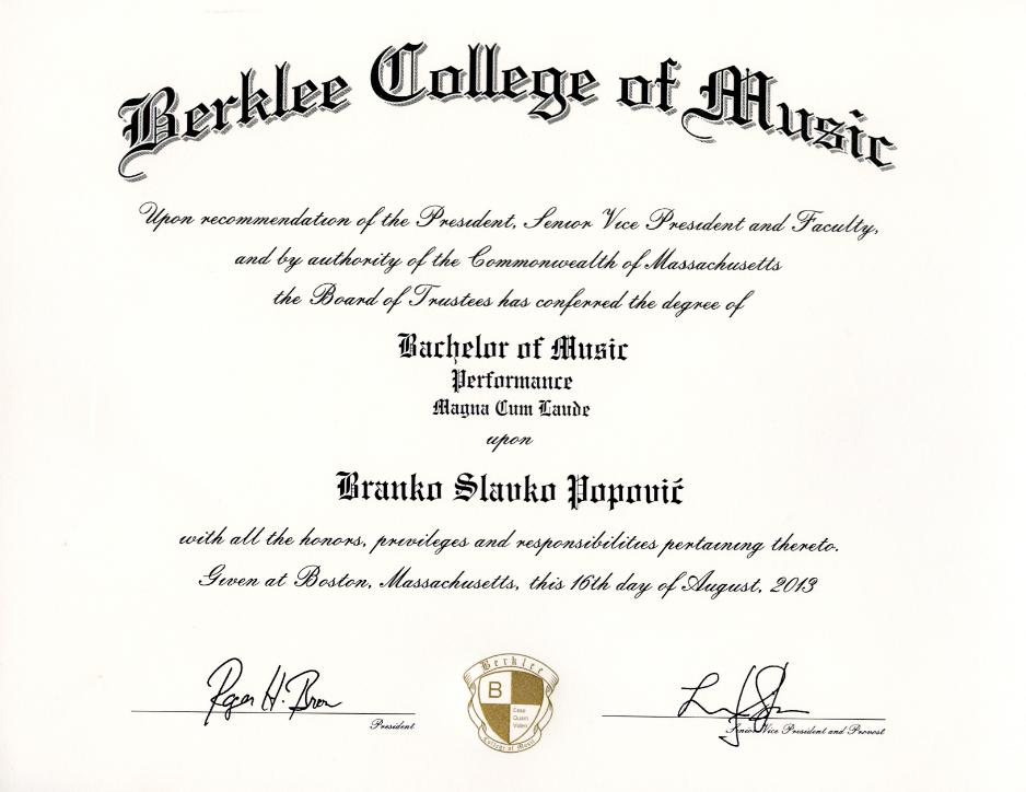 Diploma Berklee1